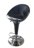 Black Adjustable Air Lift Bar Stools