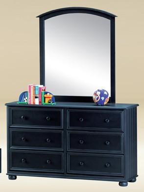 Dark blue living room navy blue living room decor 546 home and - Dillon Cottage Navy Blue Bead Board 6 Drawer Dresser