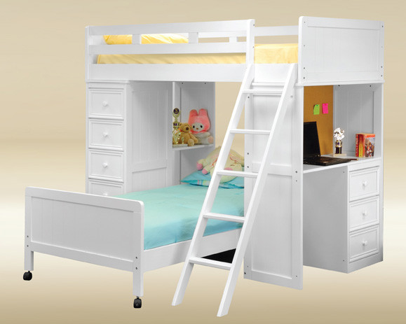 Twin Loft Bed.Gavin Twin Loft Bed With Desk And Chest