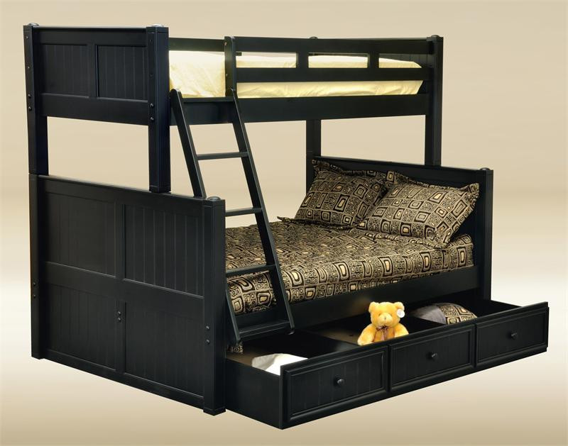 white twin over full bunk bed orange county cottage bunk bed dark pecan navy blue black