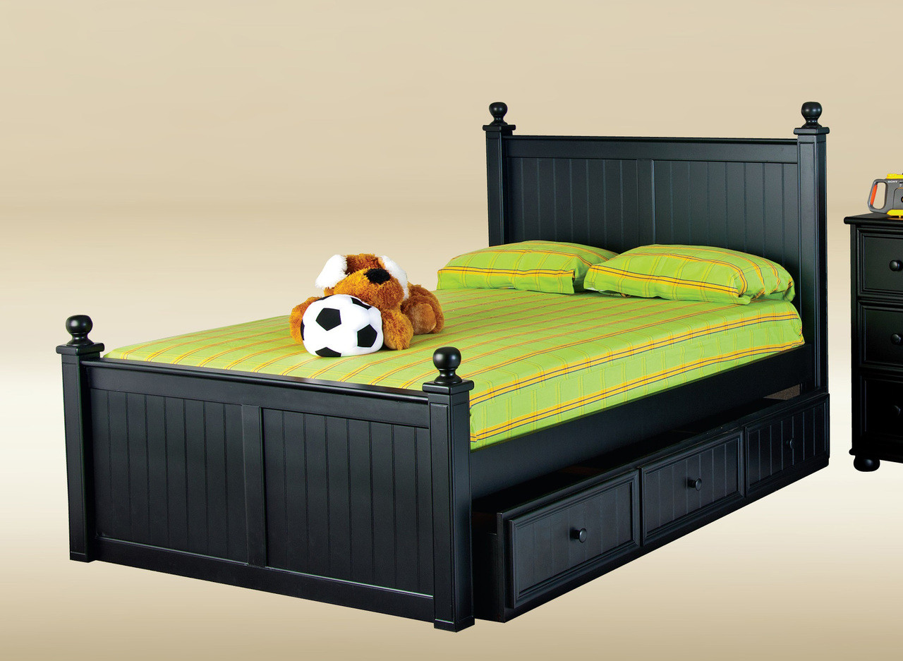 Dillon Bead Board Full Size Bed Full Beds In Orange