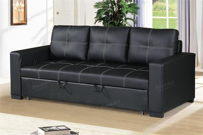 Pacific City Convertible Sofa w/ Pull-out Bed