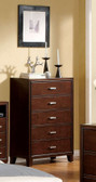 Brown Cherry Chest of Drawers 7068C