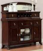 Dining Room Sideboard in Rich Brown Cherry Finish