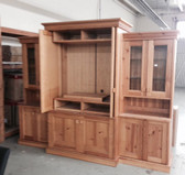 Estonian Honey Solid Pine TV Entertainment Center - Orange County