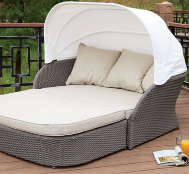 outdoor daybed with canopy furniture of america os2107 outdoor patio canopy daybed 31333