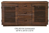Napa Salvaged Brown Sideboard From Origins by Alpine Furniture