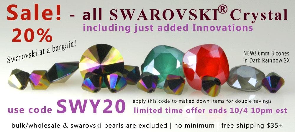 Swarovski Crystal Sale