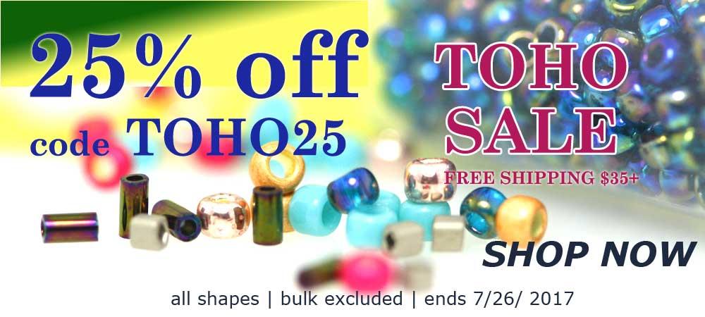toho seed beads on sale