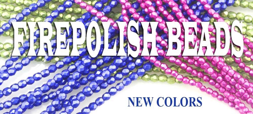 firepolish beads new colors