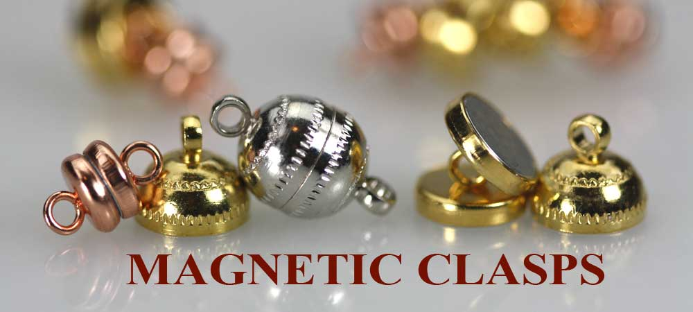 magnetic clasps for beaded jewelry