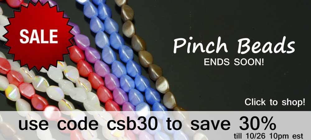 pinch beads sale