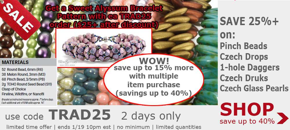 czech glass beads sale