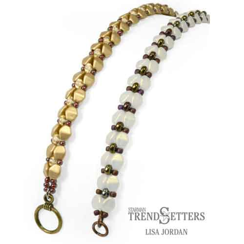 Free Beading Pattern A Pinch of Elegance Bracelet