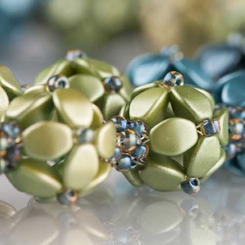 Czech Glass Pinch Beads Free Project