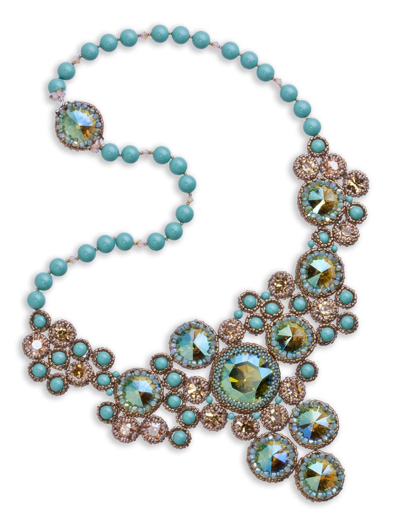 Free Style Swarovski Necklace