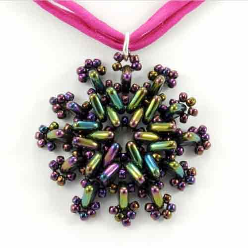 Free Beading Point Taken Pendant