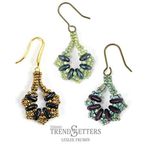 Free Beading Pattern Serendipity Earrings