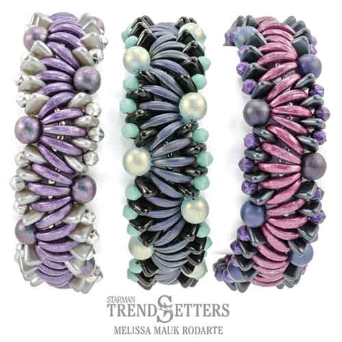Winding Current Bracelet Free Pattern