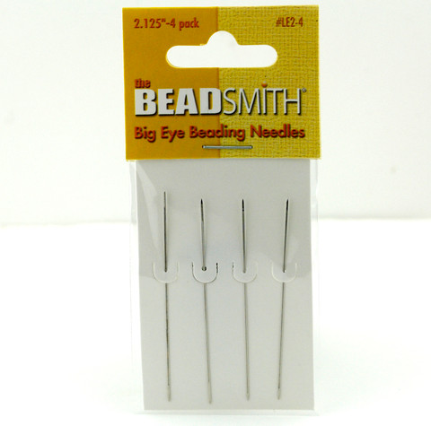 55mm Big Eye Beading Needles