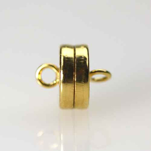 Gold Plated MAGNETIC DISC Clasp