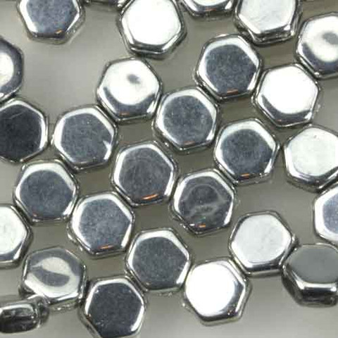 Honeycomb Beads SILVER