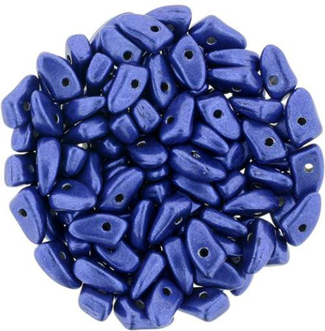 Prong Beads LAPIS BLUE SATURATED METALLIC