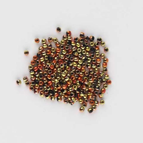 2mm Round Druk Beads CALIFORNIA GOLD RUSH Czech Glass Wholesale