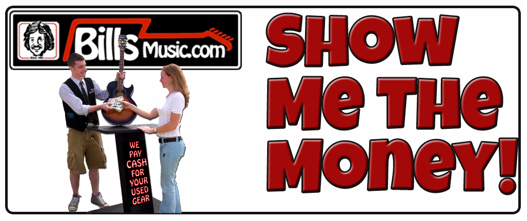 Bill's pays cash for your used musical instruments & takes