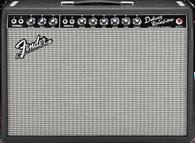 Fender '65 Deluxe Reverb Combo Amp, Black