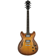 Ibanez Artcore AS73 Electric Guitar, Tobacco Brown Finish