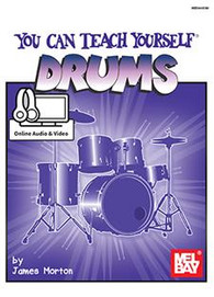 You Can Teach Yourself Drums (Book + Online Audio/Video)