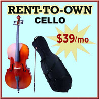 Student Rent-to-Own Cello Outfit