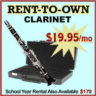 Student Rent-to-Own Clarinet Outfit