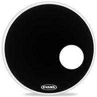 """EVANS EQ3 Resonant Black 22"""" Bass Drumhead"""