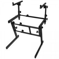On-Stage KS7365EJ Folding Z-Style Keyboard Stand with 2nd Tier