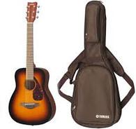 Yamaha JR2 Compact Acoustic Guitar, Tobacco Sunburst Finish