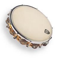 "LP CP 391 Tunable Tambourine, Wood, 10"""