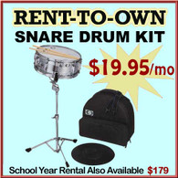Student Rent-to-Own Snare Drum Kit