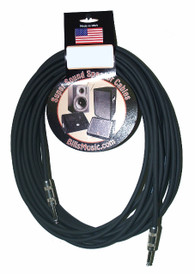 "SUPER SOUND CABLES 30FT 1/4""-1/4"" SPEAKER CABLE"