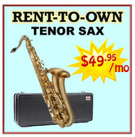 Student Rent-to-Own Tenor Sax Outfit