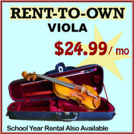 Student Rent-to-Own Viola Outfit
