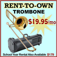 Student Rent-to-Own Trombone Outfit