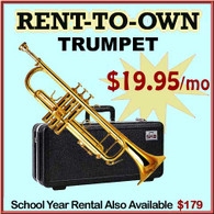 Student Rent-to-Own Trumpet Outfit