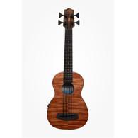 Kala UBASSEMFS Exotic Mahogany U-Bass Acoustic-Electric w/ Gigbag