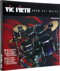 "Vic Firth MUTEPP4 Mute Prepack 4 - Complete Fusion Kit w/22"" Kick"