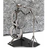 Metal Guitar Singer Figurine