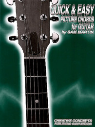 Quick & Easy Picture Chords for Guitar by Sam Martin