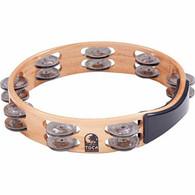 """Toca Acadian 10"""" Wood Tambourine"""