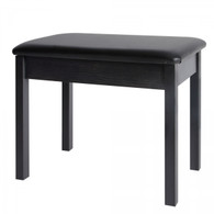 On Stage Keyboard & Piano Bench, Black